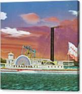 The Steamship Syracuse Canvas Print