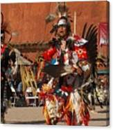 Traditional Dancer Canvas Print