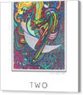 Two Edged Sword Canvas Print