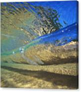 Underwater Wave Canvas Print
