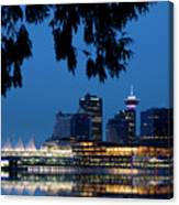 Vancouver Skyline Canada Canvas Print