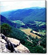 View From Atop Seneca Rocks Canvas Print