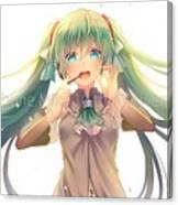 Vocaloid Canvas Print