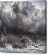 Volcanic Plumes With Poisonous Gases Canvas Print