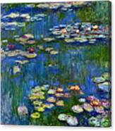 Water Lilies 1916 Canvas Print