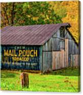 West Virginia Barn Canvas Print