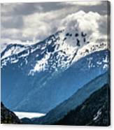 White Pass Mountains In British Columbia Canvas Print