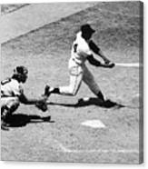 Willie Mays (1931- ) Canvas Print
