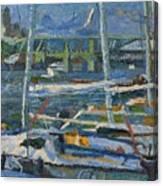 Yachts Canvas Print