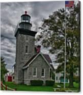 30-mile Point Lighthouse 3197 Canvas Print