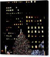 30 Rock, Christmas Eve, 2011 Canvas Print