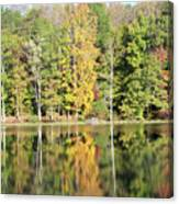 3007-fall Waterscape Canvas Print