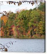 3008-fall Waterscape Canvas Print