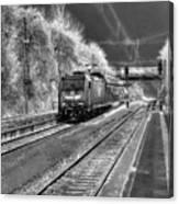 301 Ice Train Canvas Print