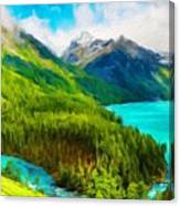 Nature Landscape Pictures Canvas Print