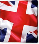 British Flag 7 Canvas Print
