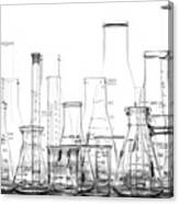 Laboratory Equipment In Science Research Lab Canvas Print