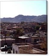 Cuidad Juarez Mexico Color From 1986-1995 Canvas Print