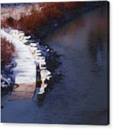 33rd And Canal Canvas Print