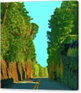34- Enchanted Highway Canvas Print