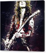 Jimmy Page. Led Zeppelin. Canvas Print
