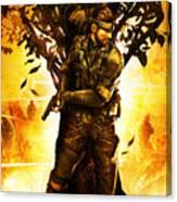 Metal Gear Canvas Print