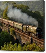 34067 Tangmere On Return. Canvas Print
