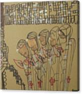 Five Wise Virgins Canvas Print