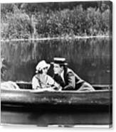 Silent Film Still: Couples Canvas Print