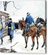 35424 Frederick Remington Canvas Print