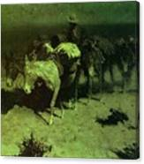 35427 Frederick Remington Canvas Print