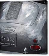 356 Porsche Rear Canvas Print