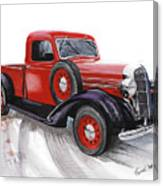 36 Dodge Canvas Print