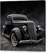 36 Ford Five Window Canvas Print