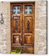 Italian Door  Canvas Print