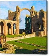 Lindisfarne Priory Canvas Print