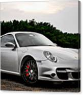 360 Forged Porsche 997tt 2 Canvas Print