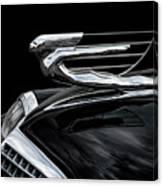 37 Cadillac Hood Angel Canvas Print