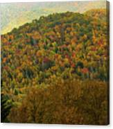North Carolina Fall Colors Canvas Print