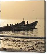 People In Gambia Canvas Print