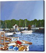 38 Boats Canvas Print