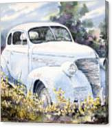 39 Chevy Canvas Print