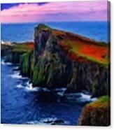 Original Landscape Paintings Canvas Print