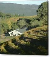 3b6348 Benzinger Family Winery Canvas Print