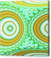3d Candy Circles  Canvas Print