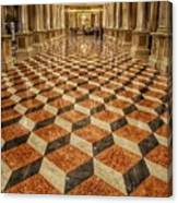 3d Floor Art Canvas Print