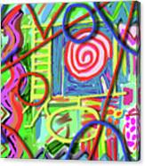 3d Jazz Canvas Print