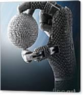 3d Printing Additive Robotic Hand Canvas Print