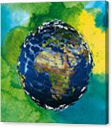 3d Render Of Planet Earth 14 Canvas Print
