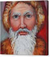3d Santa Canvas Print
